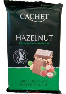 Cachet Milk Chocolate Hazelnut 300g