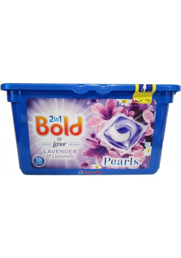 Bold 2in1 Pearls Lavender & Camomile 38 Washes