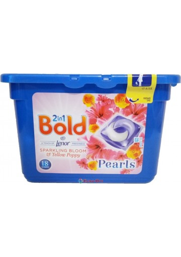 Bold 2in1 Sparkling Bloom 18 Washes