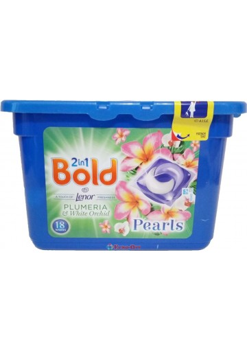 Bold 2in1 Plumeria and White Orchid 18 Washes