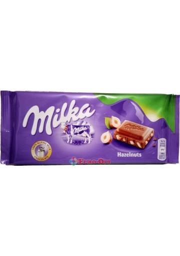 Milka Hazelnut 100g.