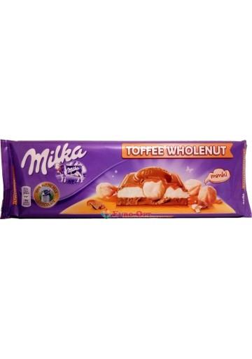 Milka Toffee Wholenut 300g.