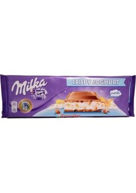 Milka Crispy Joghurt 300g.
