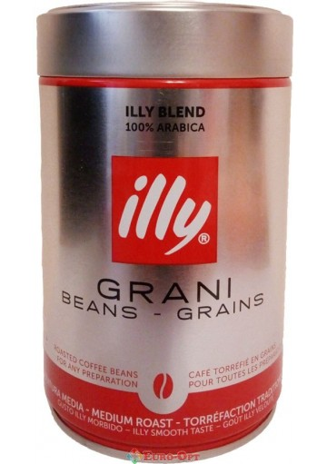 Illy Grani Beans-Grains 250g.