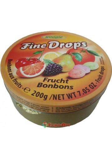Woogie Fine Drops (Фруктовое Ассорти) 200g.