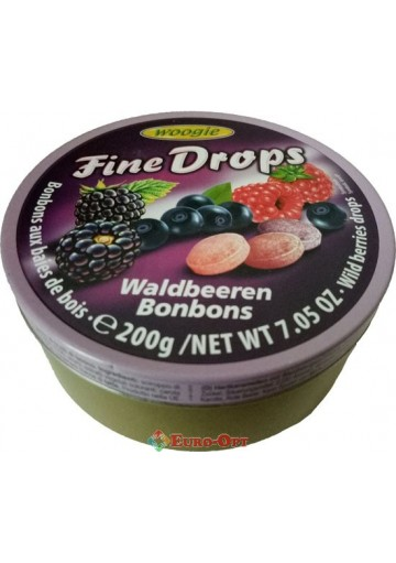 Woogie Fine Drops (Лесные Ягоды) 200g.