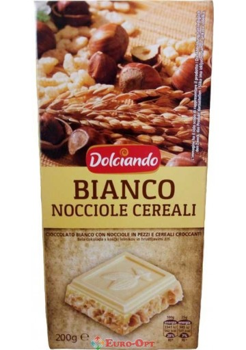 Dolciando Bianco Nocciole Cereali 200g