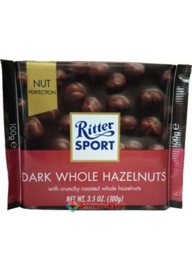 Ritter Sport Dark Whole Hazelnuts 100g