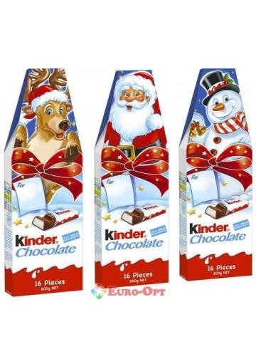 Новогодний Kinder Chocolate (16 batoników) 200g