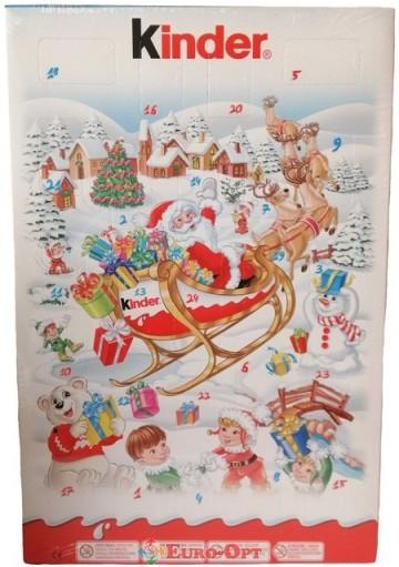 Рождественский Календарь Kinder 152g
