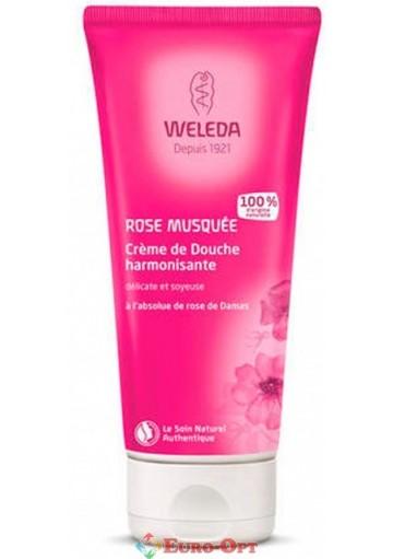 Крем-гель для душа Weleda Wildrose Cremedouche (Дикая роза) 200ml