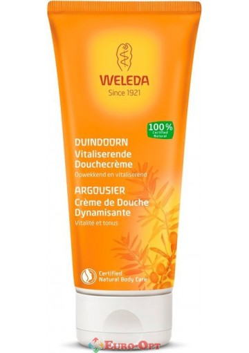 Крем-гель для душа Weleda Duindoorn Cremedouche (Облепиха) 200ml