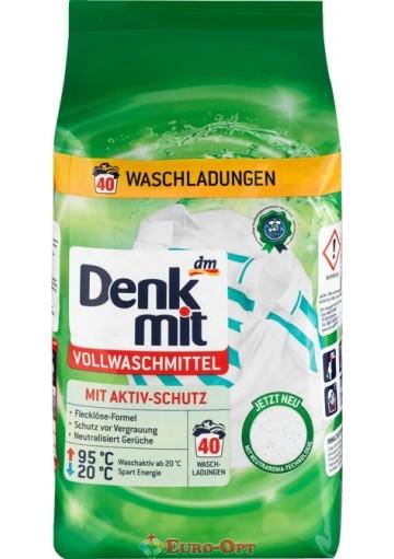 Denkmit Vollwaschmittel (40 стирок) 2.7kg