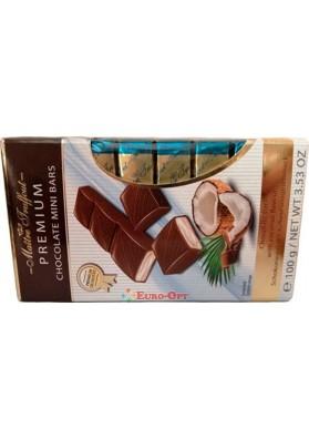 Maitre Truffout Premium Mini Bars Coconut 100g