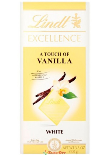 Lindt Excellence Vanilla 100g