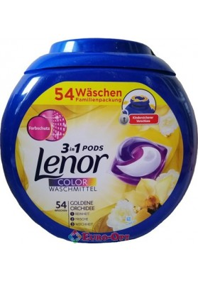 Lenor 3in1 Pods Golden Orchidee 54 caps