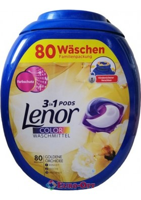 Lenor 3in1 Pods Golden Orchidee 80 caps