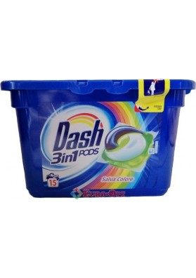 Dash 3in1 Salva Colore 15 caps