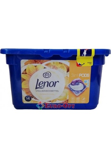 Lenor 3in1 Seidene Orchidee 14 caps