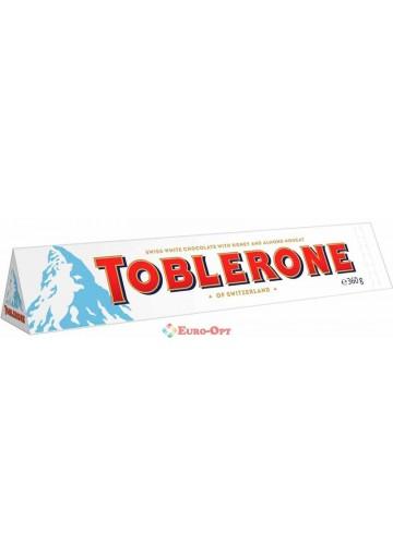 Toblerone White Chocolate Honey & Almond Nougat