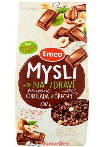 Mysli Emco Cokolada a Orechy (Мюсли Емко Шоколад с Орехом) 750g.