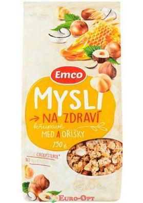 Mysli Emco Med a Orisky (Мюсли Емко с Мёдом и Орехами) 750g.