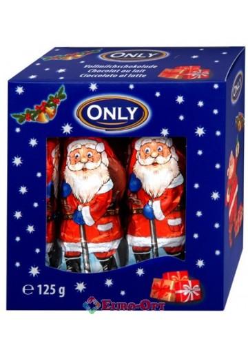 Only Santa Clauses (Шоколадный Дед Мороз) 10 шт.*12.5 гр.