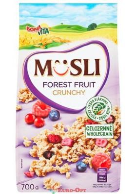 Musli Bona Vita Forest Fruit Crynchy (Мюсли Бона Вита Лесные Фрукты) 700g.