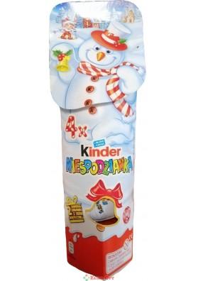 Kinder Niespodzianka (Киндер Яйца в Тубусе 4 шт.) 80g