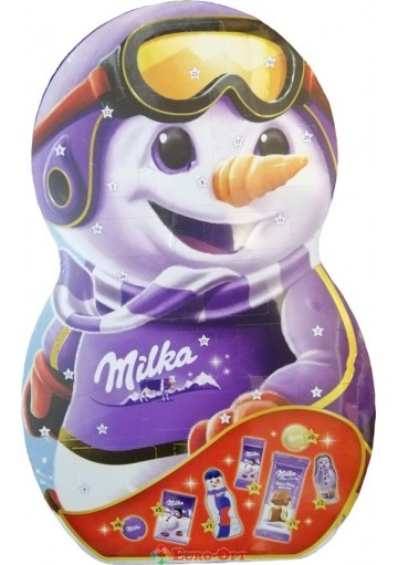 Календарь Milka Snow Mix 236g.