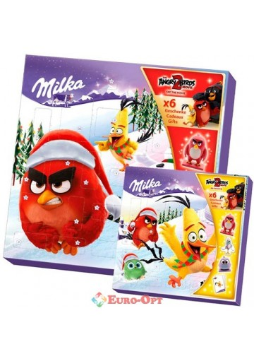 Календарь Milka Angry Birds 143g.