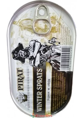 Шпроты Pirat Winter Sprats 170g.