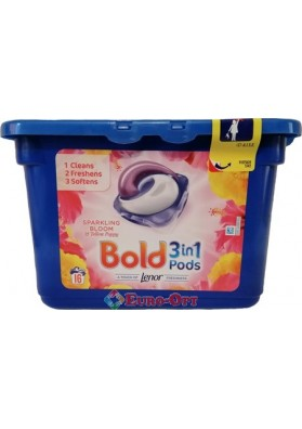 Bold 3in1 Pods Sparkling Bloom 16 caps