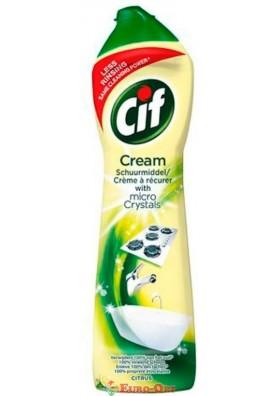 Cif Cream Cleaner Lemon (Молочко для Кухни и Ванной Сиф Лимон) 500ml