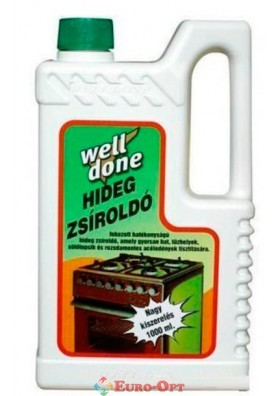 Hideg Zsiroldo Well Done (Средство для Отмывания Загрязнений Гидек Жиролдо) 1000ml.