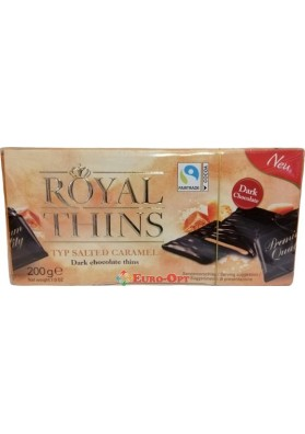 Royal Thins Salted Caramel (Роял Тинс Соль с Карамелью) 200g.