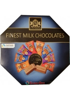 J. D. Gross Finest Milk Chocolates 200g.