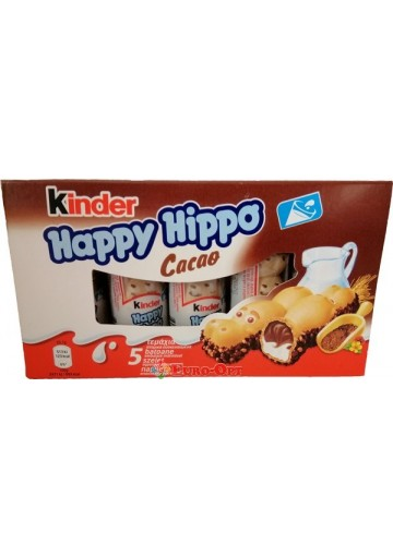 Kinder Happy Hippo Cacao (Киндер Хеппи Хиппи) 103.5g.