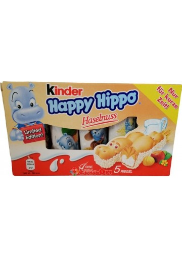 Kinder Happy Hippo Hazelnuss (Киндер Хеппи Хиппи) 103.5g.