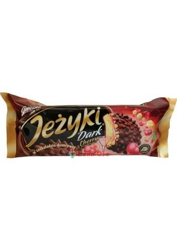 Печенье Goplana Jezyki Dark Cherry 140g.