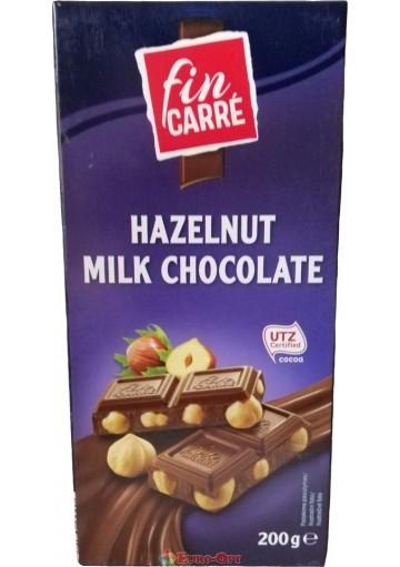 Fin Carre Milk Hazelnut Chocolate 200g.