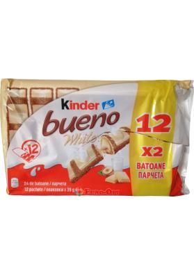 Батончики Kinder Bueno White (12 x 43g.) 516g.