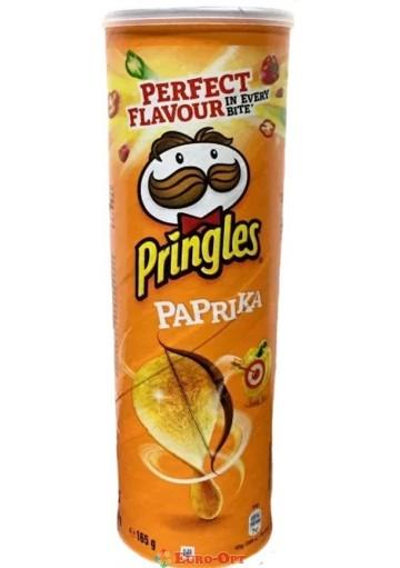 Чипсы Pringles Paprika (Принглс Паприка) 165g.