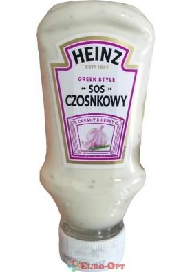 Соус Heinz Sos Czosnkowy (Хайнц Сливочный с Чесноком) 220ml.