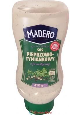 Соус Madero Pieprzowo-Tymiankowy 410g.