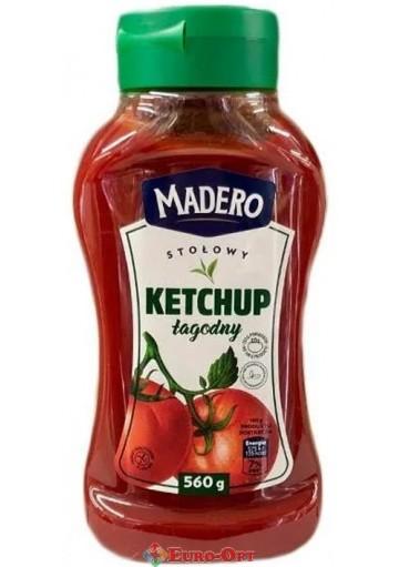 Кетчуп Madero Ketchup Lagodny 560g.