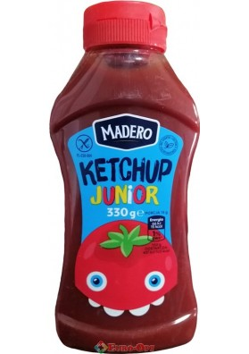 Кетчуп Madero Ketchup Junior 330g.