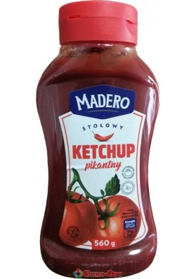 Кетчуп Madero Ketchup Pikantny 560g.