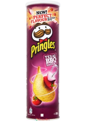 Чипсы Pringles Texas BBQ Sauce (Принглс Соус Барбекю) 165g.
