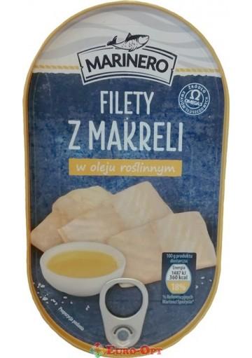 Marinero Filety Makreli w Oleju (Филе Скумбрии в Подсолнечном Масле) 170g.